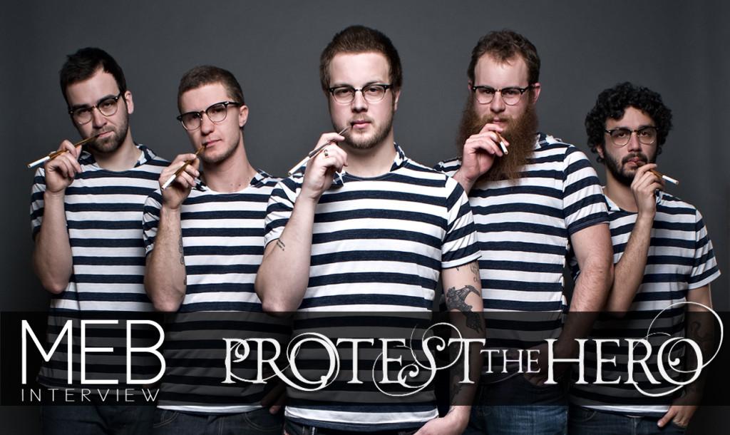 カナダの変態メタルコアバンドProtest The Hero プロテスト・ザ・ヒーロー